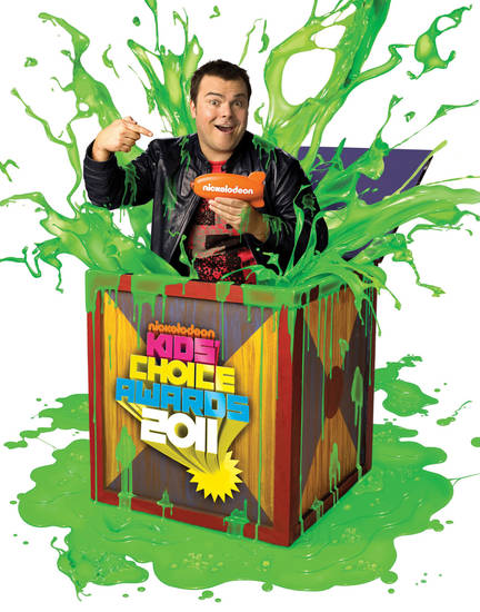 Jack Black, host of the 24th Annual Nickelodeon Kids' Choice Awards. Photo credit:Sam Jones/Nickelodeon©2011 Viacom International, Inc.