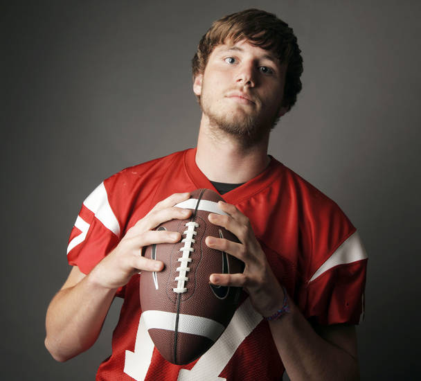 Cody Miller of Lawton threw for 1,922 yards and 19 touchdowns last season.  Photo by Nate Billings, The Oklahoman