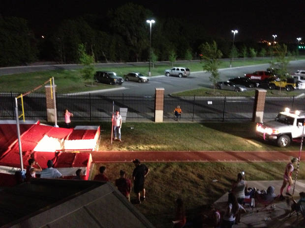 The pole vault competition at the Meet of Champions lasted so long Tuesday night that cars had to be brought in to shine extra light on the pit.
