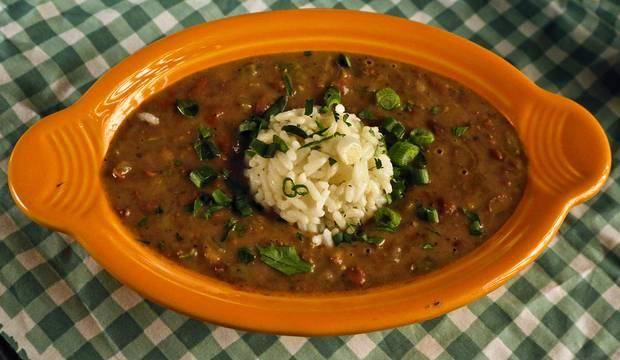 Classic Red Beans and Rice.
