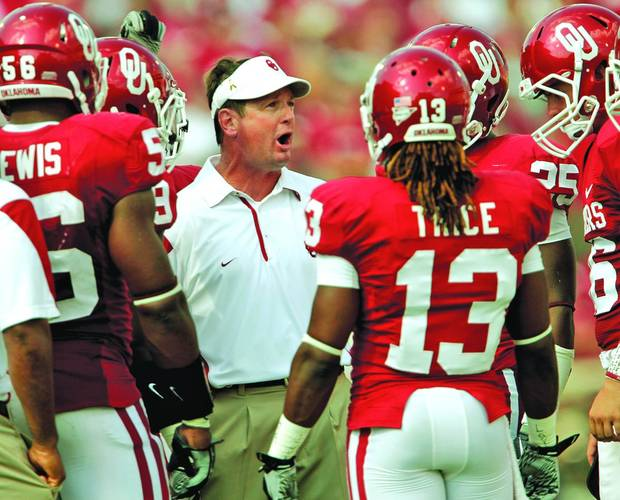 Where will OU coach Bob Stoops take his team for a bowl game? Photo by Bryan Terry, The Oklahoman