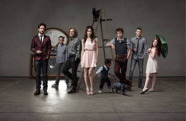 The cast of &quot;Shameless&quot; - Showtime Photo