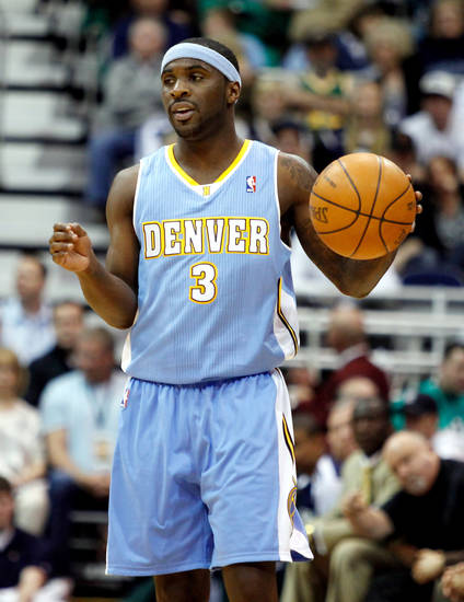 Point guard Ty Lawson: Average 11.7 points and 4.7 assists per game this season. Took over for Chauncey Billups as starting point guard after Denver's trade with New York. Lawson was injured vs. Utah and is playing status for Game 1 is unknown. (AP Photo/Steve C. Wilson)