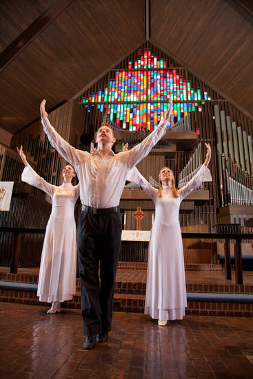 The Spirit of Grace Liturgical Dancers will participate in the Easter Vigil Service set for Saturday at Oklahoma City University. Photo provided <strong></strong>