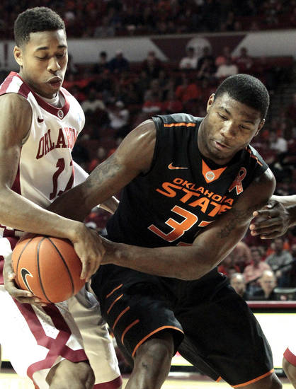 The loser of Bedlam tonight could be out of the Big 12 race. Photo by Steve Sisney, The Oklahoman