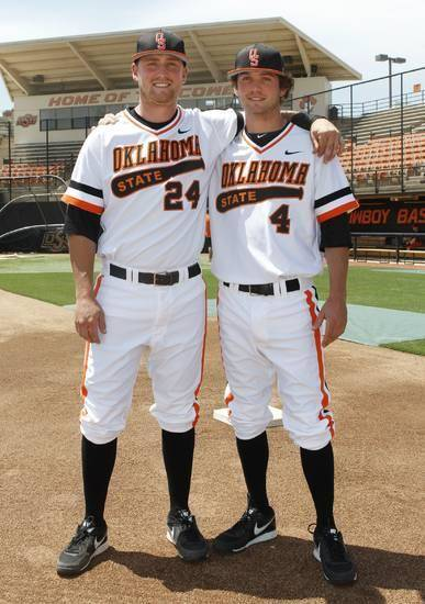 Randy (left) and Brendan McCurry have enjoyed their season together.