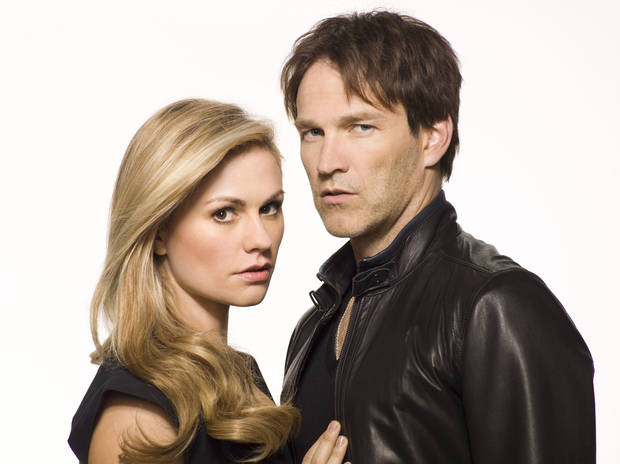 "Anna Paquin and Stephen Moyer of ""True Blood"" - HBO Photo"