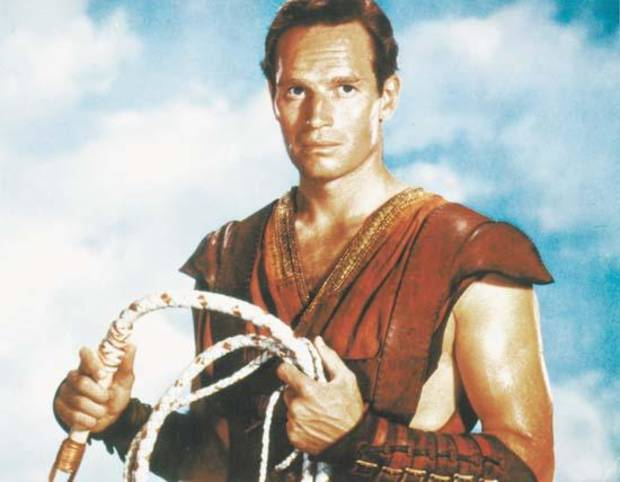 "Charlton Heston in ""Ben-Hur"""