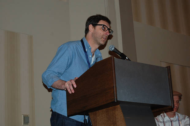 Eric Stephenson, Image Comics Publisher, at the ComicsPRO members meeting in Atlanta, Ga.  Photo by Annette Price