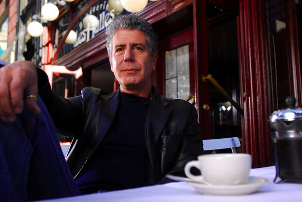 Anthony Bourdain, chef, writer and television host       ORG XMIT: 1006011546120253