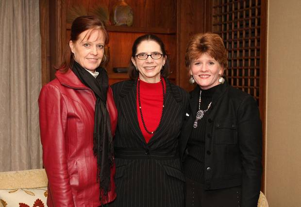 Page Beatty, Jacque Long, Lou Carmichael.  PHOTO BY DAVID FAYTINGER, FOR THE OKLAHOMAN