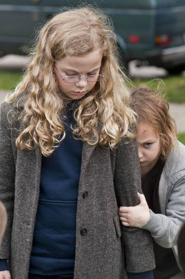 "Megan Charpentier and Isabelle Nelisse appear in the supernatural thriller ""Mama."" Universal Pictures photo <strong></strong>"
