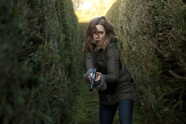 "Melissa George stars in ""Hunted."" - Cinemax Photo"