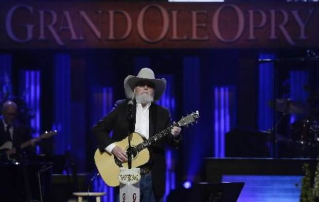 Charlie Daniels performs during the funeral for country music star George Jones in the Grand Ole Opry House on Thursday, May 2, 2013, in Nashville, Tenn. Jones, one of country music's biggest stars who had No. 1 hits in four separate decades, died April 26. (AP)