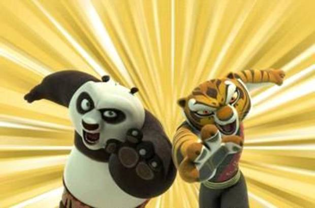 &quot;Kung Fu Panda: Legends of Awesomeness&quot; -  Nickelodeon Photo