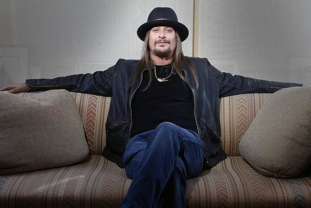 This Nov. 14, 2012 file photo shows Grammy-award winning artist Kid Rock posing for a portrait in New York. (AP)
