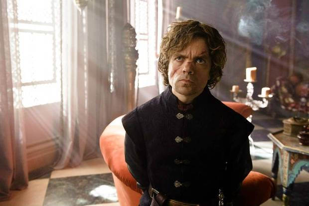 Tyrion Lannister, the best character on the show.