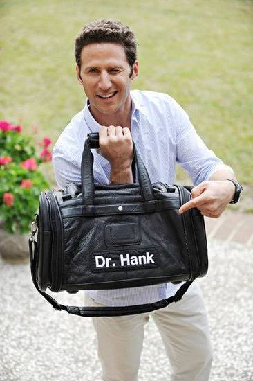 Mark Feuerstein as Dr. Hank Lawson - Photo by Gene Page/USA Network