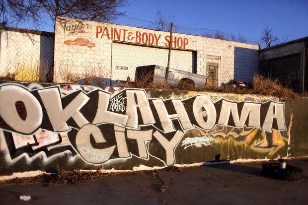 A shop is pictured at 1300 Martin Luther King Ave., is pictured in Oklahoma City, Okla., Monday, Jan. 11, 2010. Photo by Sarah Phipps, The Oklahoman