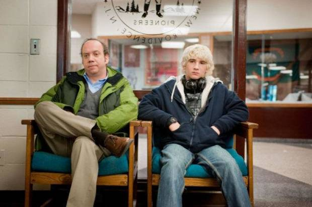 "Paul Giamatti and Alex Shaffer star in ""Win Win."" Fox Searchlight photo <strong></strong>"