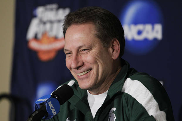 Michigan State basketball coach Tom Izzo. AP PHOTO <strong>Michael Conroy</strong>