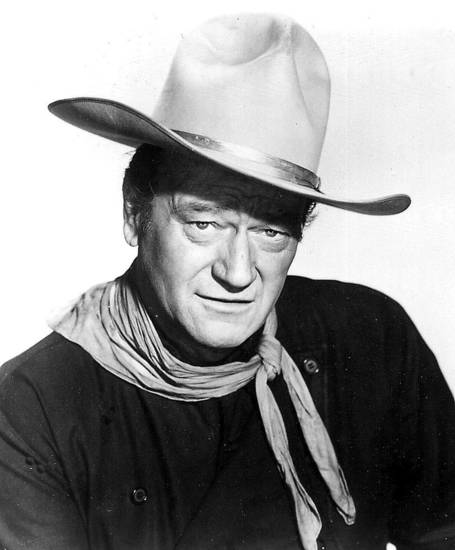 Actor John Wayne <strong></strong>