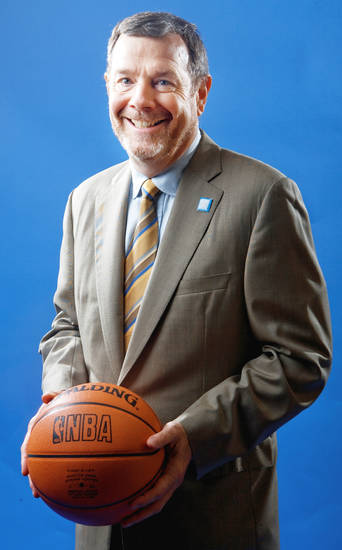 P.J. Carlesimo enjoys broadcasting but would like to return to coaching. PHOTO BY BRYAN TERRY, THE OKLAHOMAN