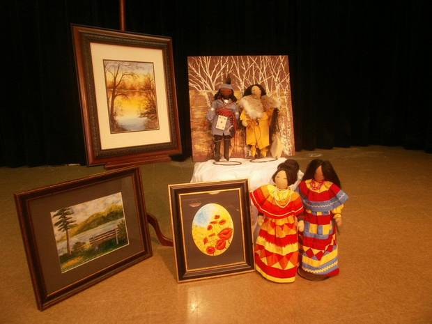 American Indian arts and crafts will be among the offerings at a Nov. 3-4 arts festival at Wesley United Methodist Church.Photo Provided