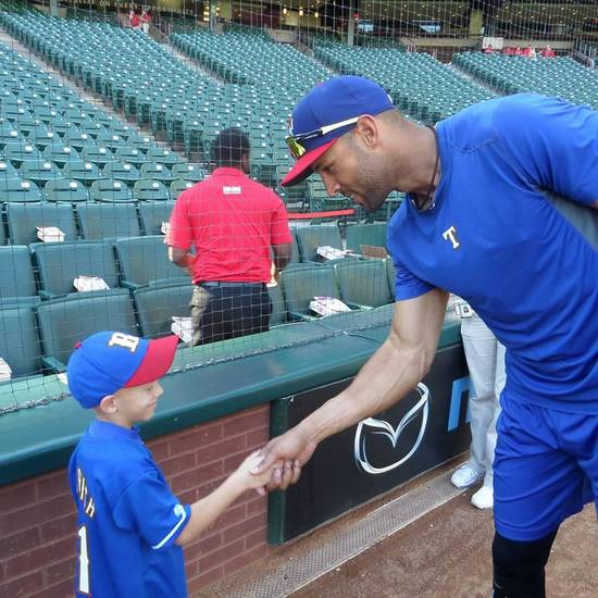Meeting Alex Rios