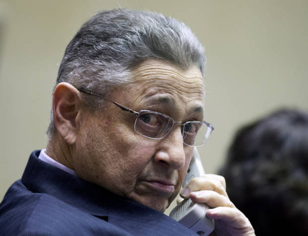 Assembly Speaker Sheldon Silver, D-Manhattan, presides over session in the Assembly Chamber at the Capitol on Monday, Jan. 14, 2013, in Albany, N.Y.  People familiar with the internal negotiations say New York Gov. Andrew Cuomo and legislative leaders have a tentative deal to enact the nation&#039;s first gun control measure following the Newtown, Conn., school shooting.  (AP Photo/Mike Groll)