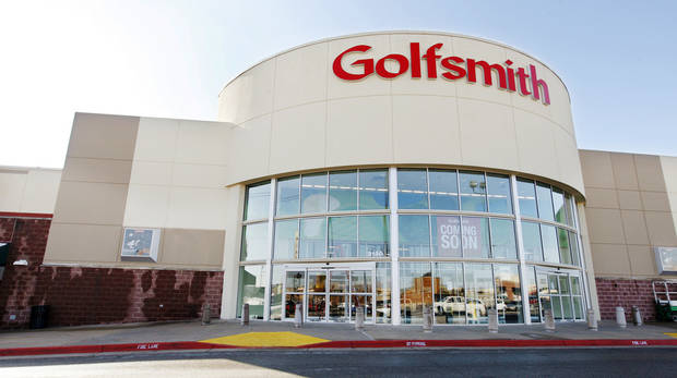 Golfsmith will open soon at 2120 W Memorial Road in the former Ultimate Electronics.