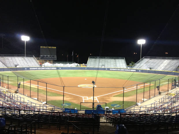 ASA Hall of Fame Stadium: Home of the Women's College World Series (Photo by Stephanie Kuzydym | The Oklahoman)