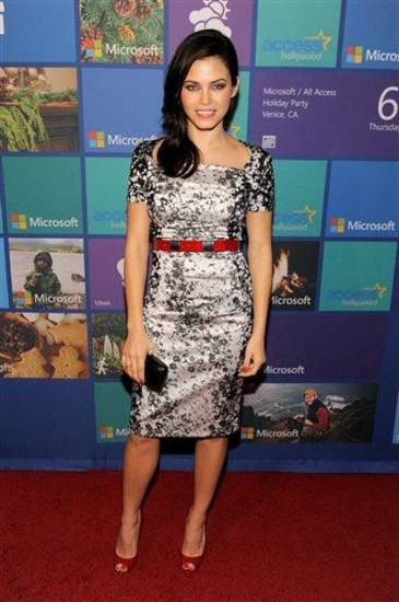 IMAGE DISTRIBUTED FOR MICROSOFT - Jenna Dewan-Tatum attends Microsoft All Access Holiday Party on Thursday, Dec. 6, 2012, in Venice, Calif. (Photo by Chris Pizzello/Invision for Microsoft/AP Images)