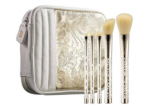 Sephora + Pantone Universe Bag and Brushes. $58 at Sephora.