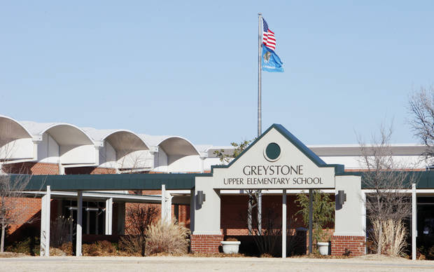 BUILDING EXTERIOR: Greystone Upper Elementary School in Oklahoma City Friday, Jan. 18, 2013.  Photo by Paul B. Southerland, The Oklahoman