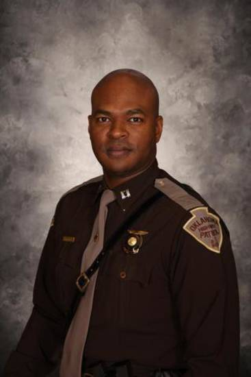 "Oklahoma Highway Patrol trooper Rodrick ""Pete"" Norwood. Photo provided. <strong></strong>"