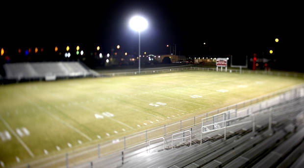 Tuttle High School football stadium. PHOTO BY BRYAN TERRY, THE OKLAHOMAN
