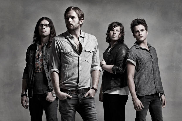"Grammy-winning rockers Kings of Leon, who have Oklahoma ties, will perform at ""Rock for Oklahoma,"" a July 23 tornado benefit concert at Chesapeake Energy Arena. Photo provided. <strong></strong>"