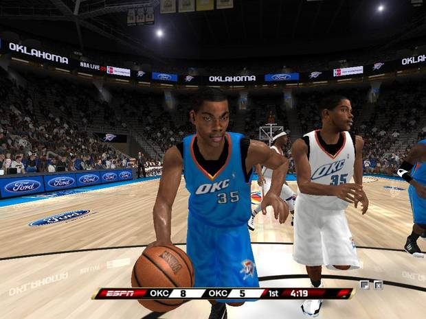 Thunder home and road uniforms