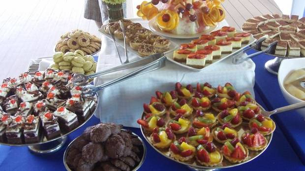 No shipboard dinner is complete without wonderful desserts!