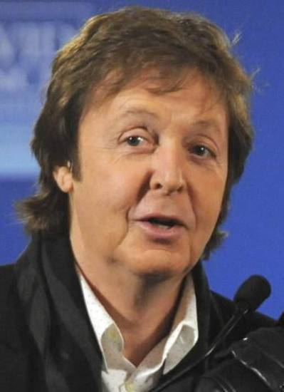 Paul McCartney (AP file)