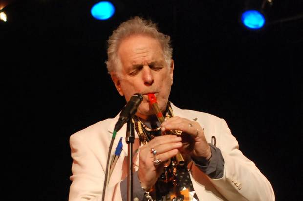 "David Amram will be featured on an upcoming episode of the public radio series ""Backstage Jazz."""