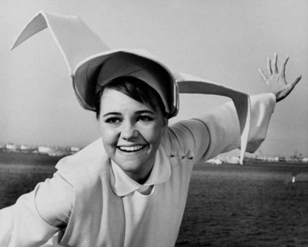"Sally Field as ""The Flying Nun"""