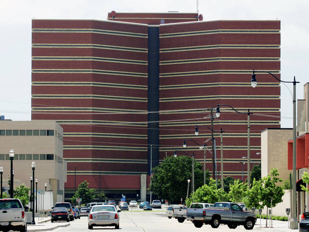 The exterior of the Oklahoma County jail.  Photo by Doug Hoke, Oklahoman archive