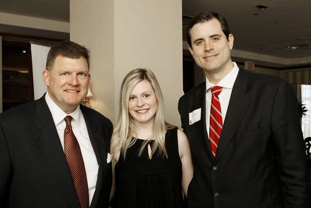 Clay Bennett, Christy Bennett and Renzi Stone. - PHOTO BY PAUL B. SOUTHERLAND, THE OKLAHOMAN