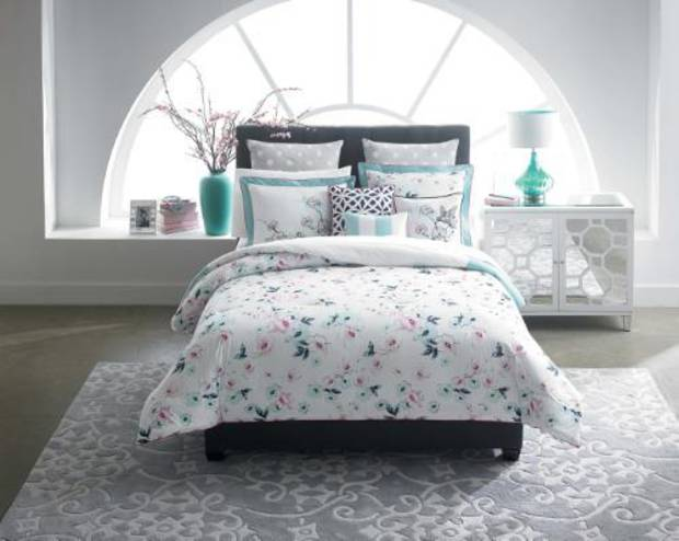 CYNTHIA Cynthia Rowley home offers bedding and home decor items. (PRNewsFoto/Belk, Inc.)
