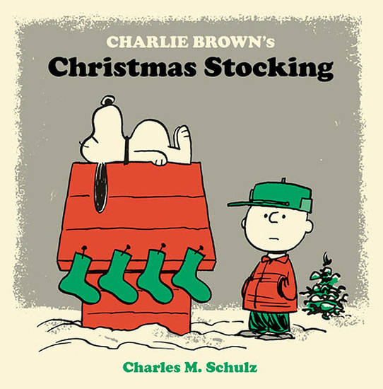 Above: �Charlie Brown�s Christmas Stocking� reprints two Christmas selections originally created for the magazine market. Fantagraphics Books Image