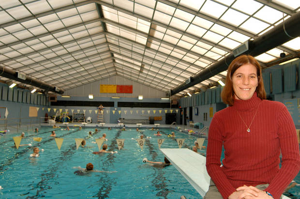 The Rose State College Aquatic Center has been named the number one aquatic program in the state. Pictured is Aquatic Director Kim Quiri who has been named one of the top 46 aquatic directors in the country.<br/><b>Community Photo By:</b> Steve Reeves<br/><b>Submitted By:</b> Donna, Choctaw