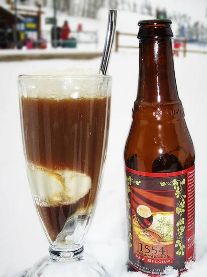 boldA beer float served at the Park Hyatt Beaver Creek hotel in Avon, Colo.  Photo by Park Hyatt  Beaver Creek/AP