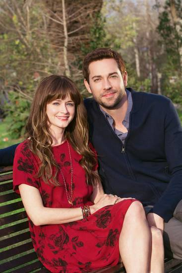 Alexis Bledel and Zachary Levi  Photo credit: Erik Heinila